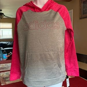Adidas Girl's Hooded Sweater